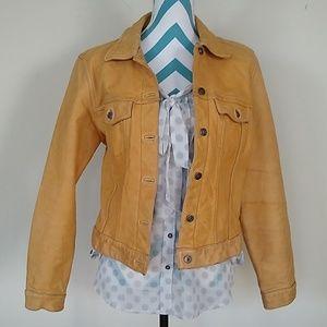 GAP Vintage Genuine Leather Jacket.